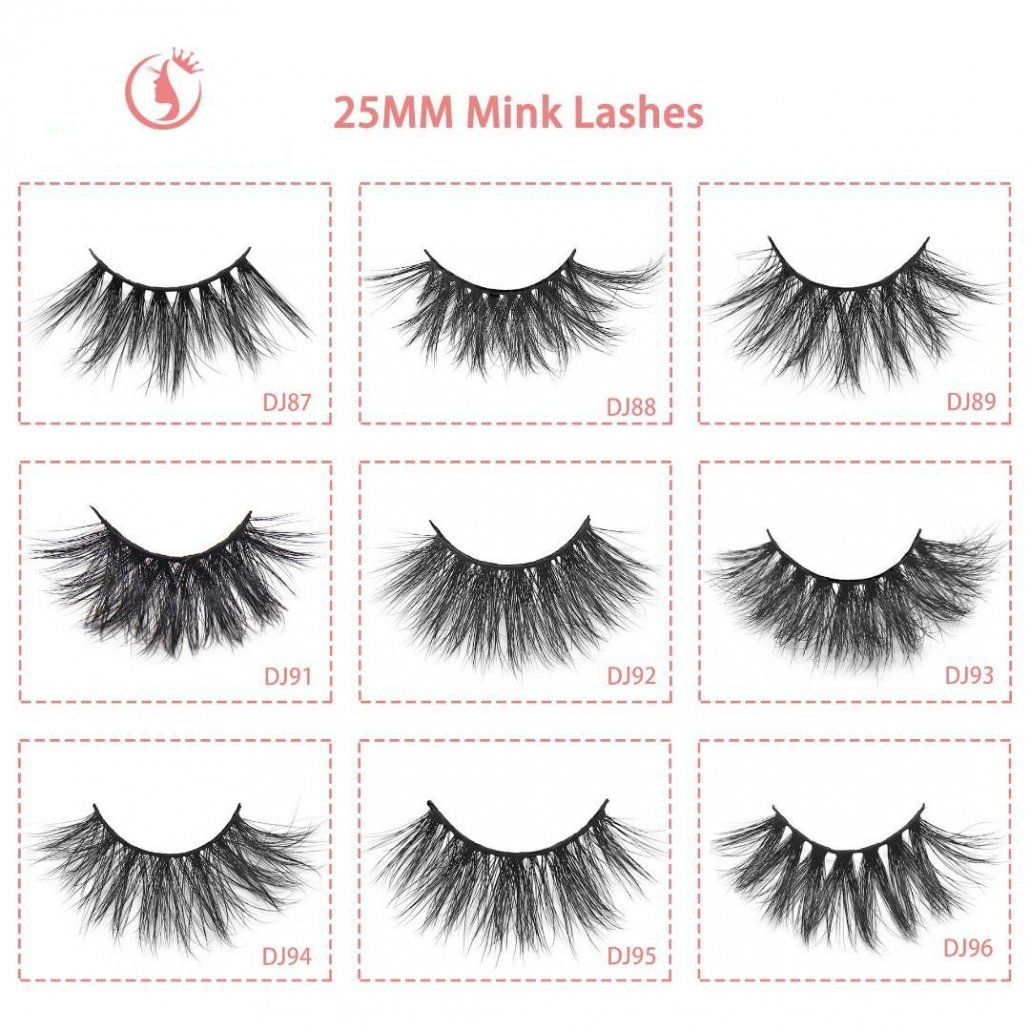 25mm lashes wholesale eyelashes