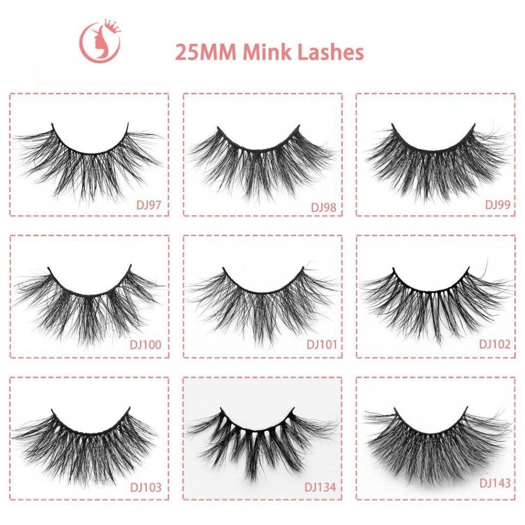 wholesale eyelashes 25mm lashes