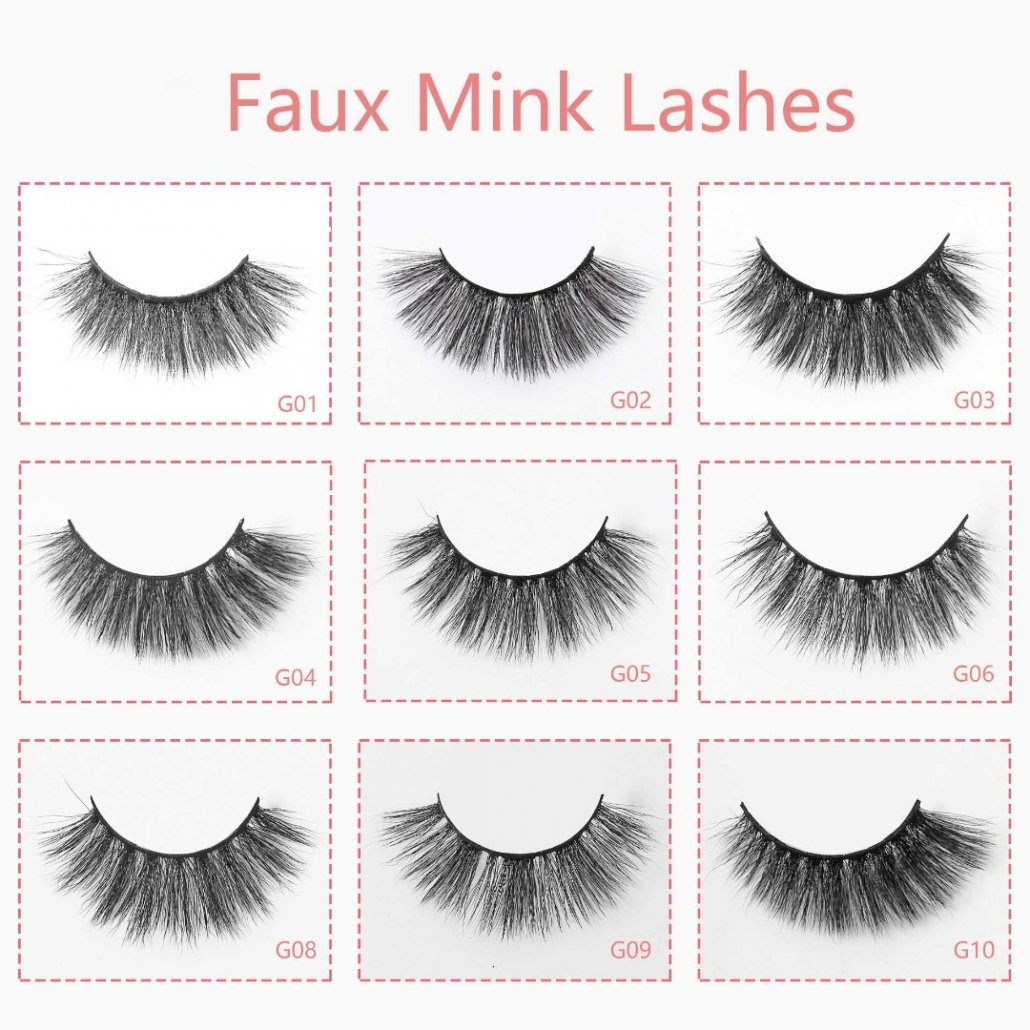 Faux Mink Lashes Wholesale
